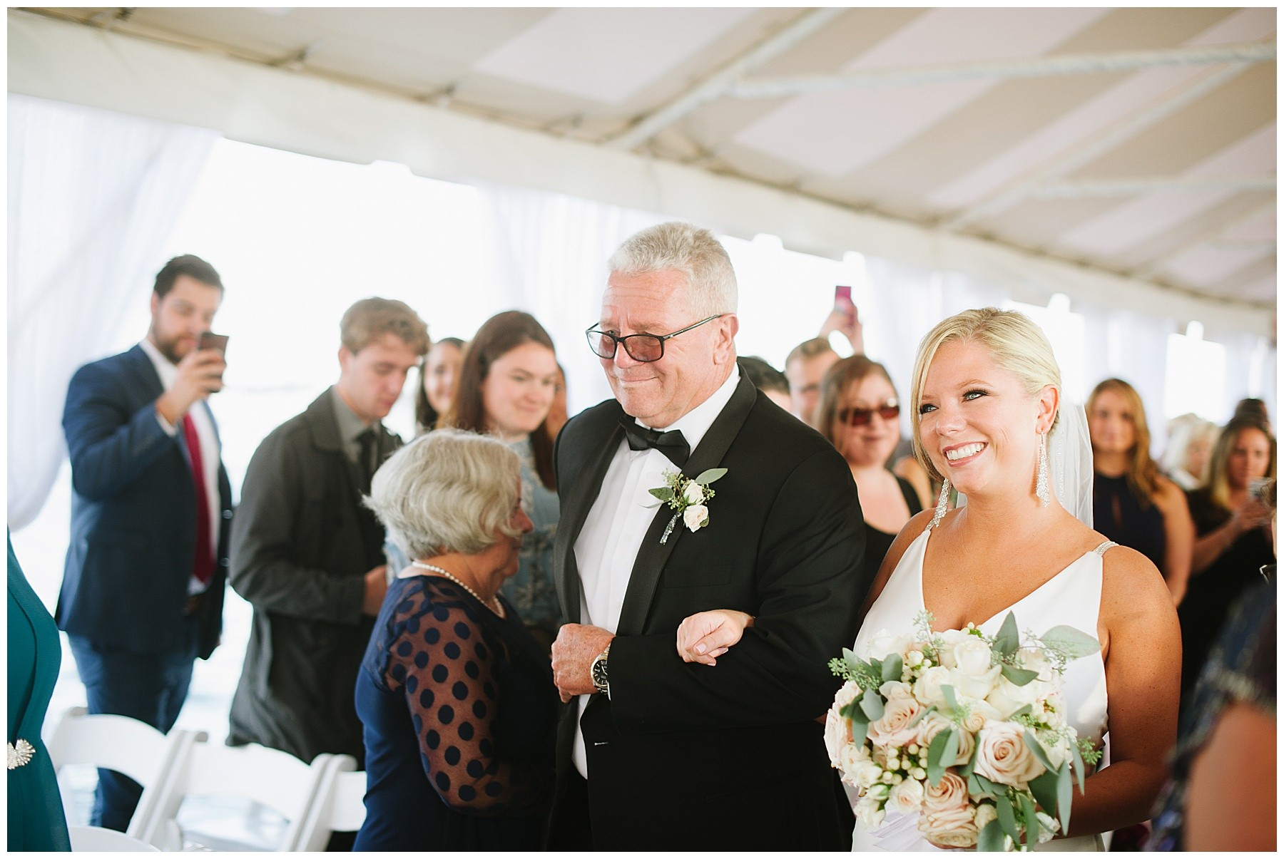 Mike and Jessica's Regatta Place Wedding | Newport, Rhode Island